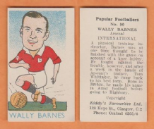 Wales Wally Barnes Arsenal